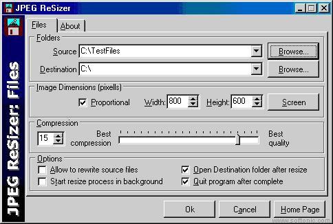 JPEG Resizer