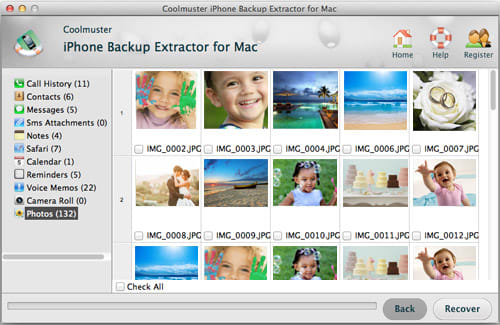 Coolmuster iPhone Backup Extractor for Mac