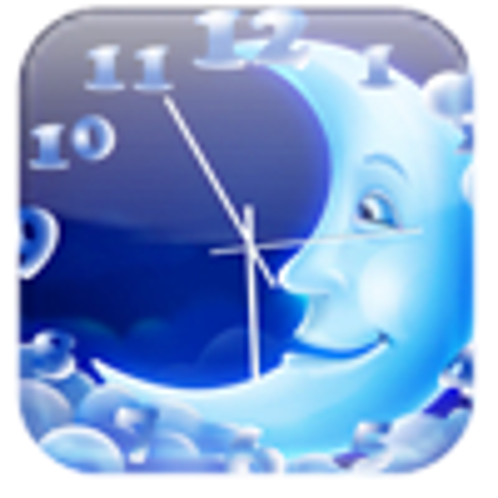 NewFreeScreensaver Moon Clock 15