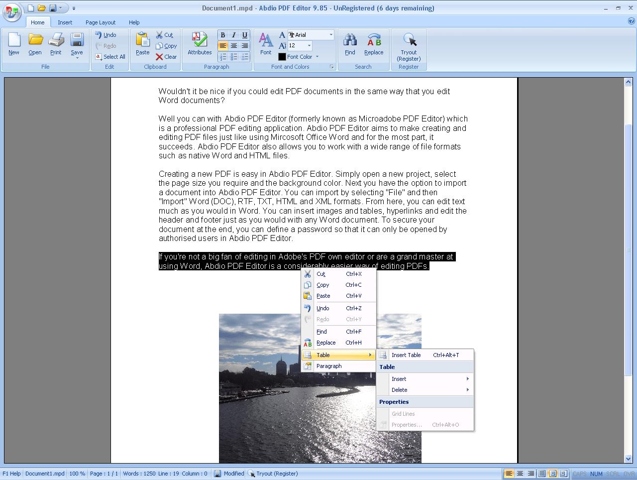Abdio PDF Editor