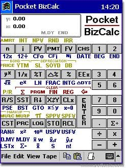 Pocket BizCalc