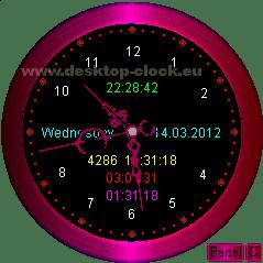 voice Desktop Clock