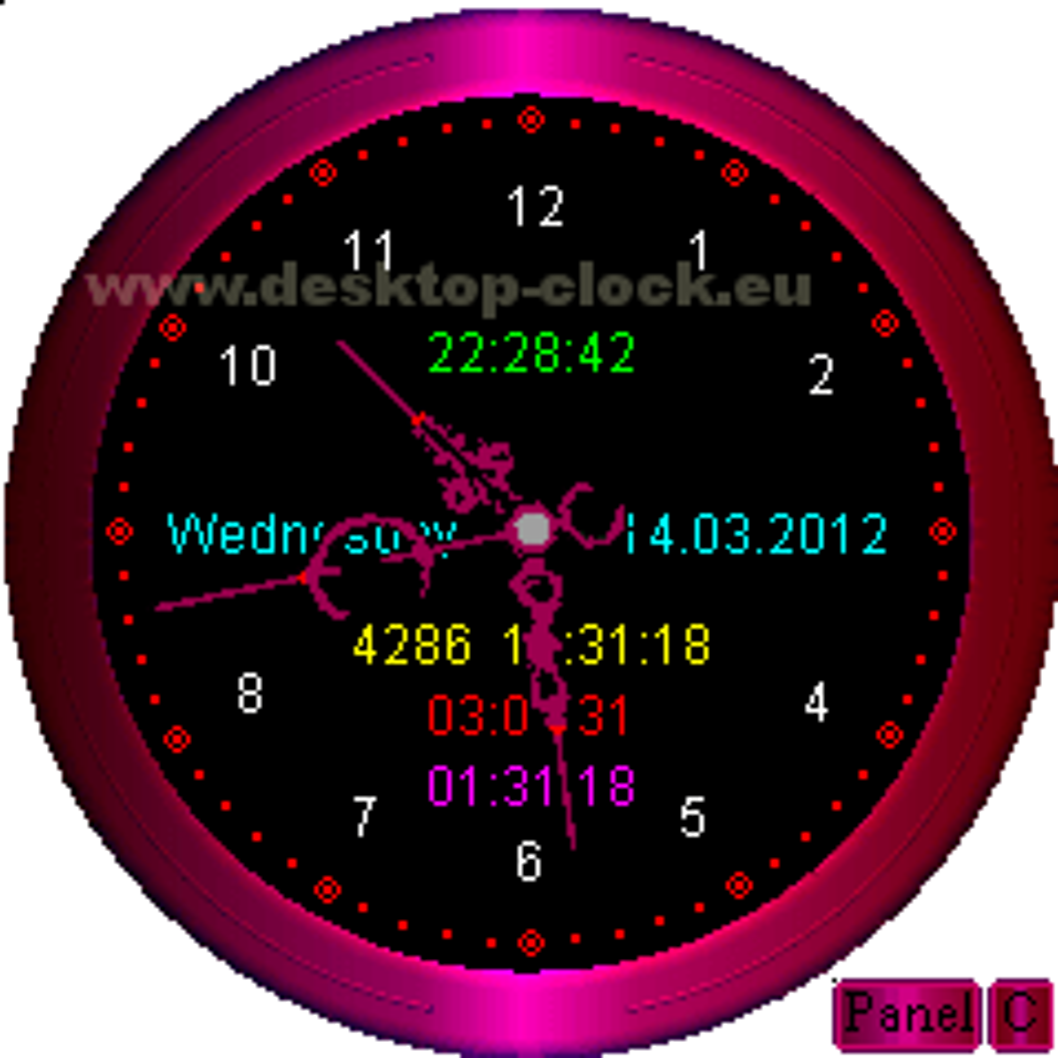 voice Desktop Clock 2.9