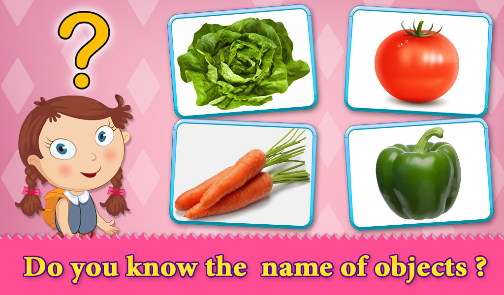 Animals Fruits Veggies For Kid