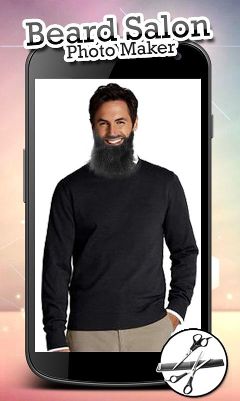 Beard Salon Photo Maker