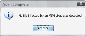 Clean Virus MSN
