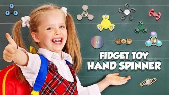 Hand spinner fidget toy
