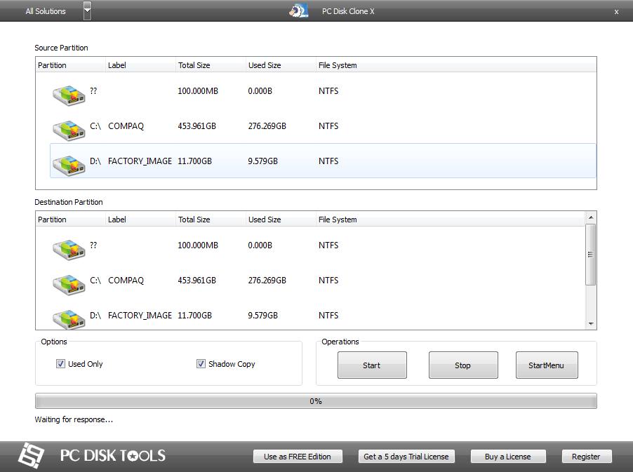 PC Disk Clone X