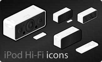 iPod Hi-Fi icons