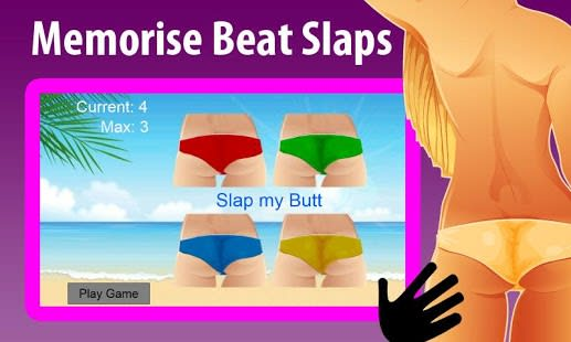 Slap my Sexy Butt: Memory Beat