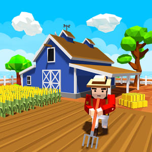 Blocky Farm Worker Simulator 1.1