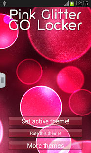 Pink Glitter GO Locker