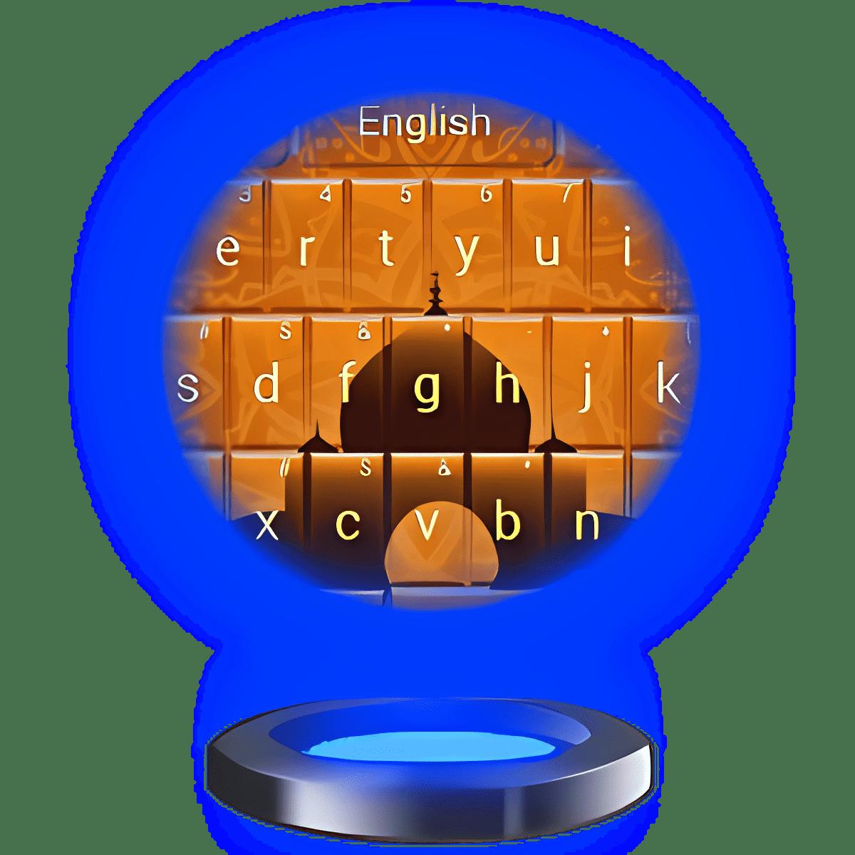 Keyboard Theme Árabe