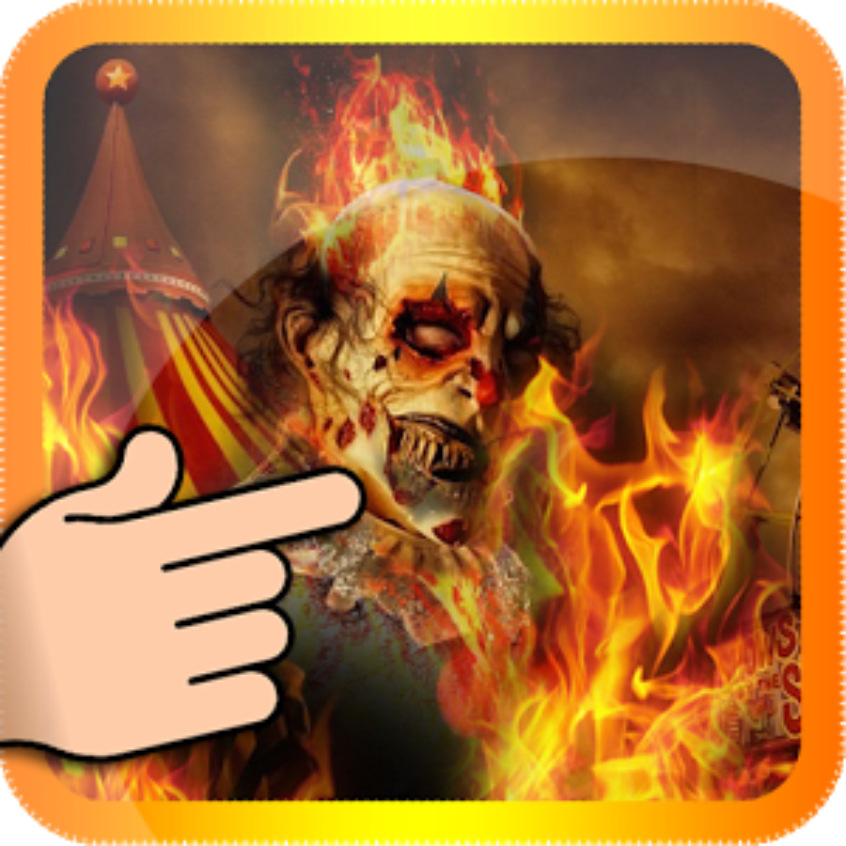 Ghost Rider payaso de Fuego