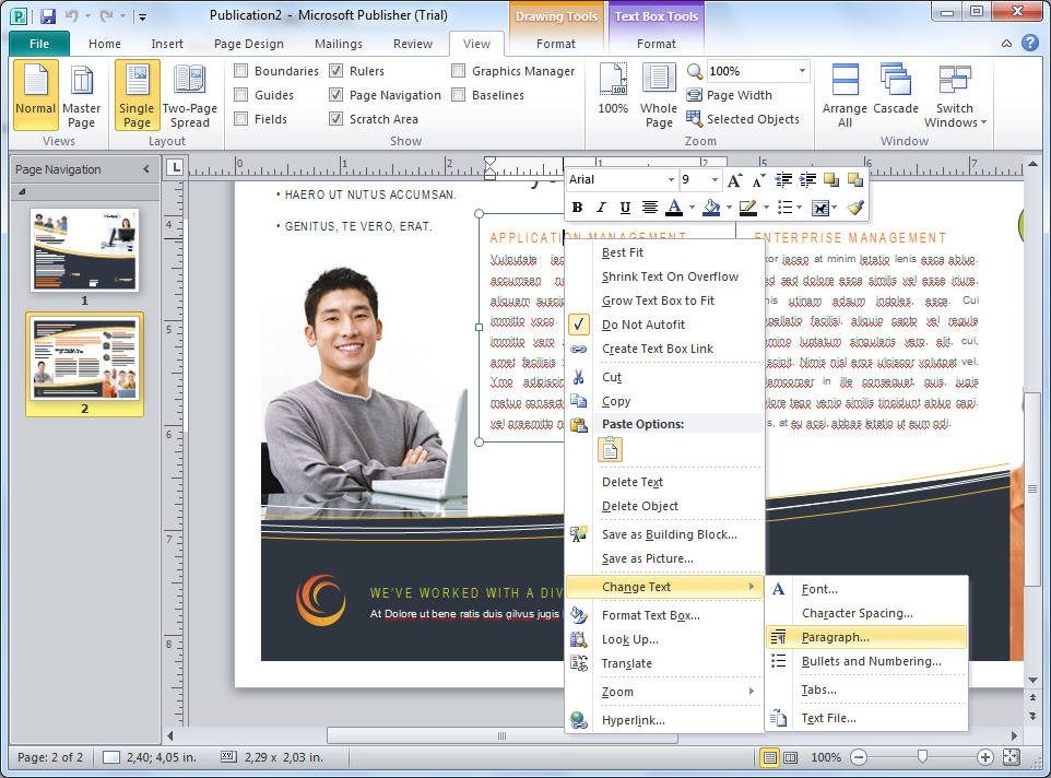 office 2010 trial download free