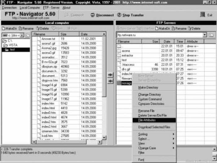 FTP Navigator