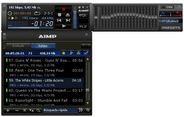 AIMP 2 Skins Pack