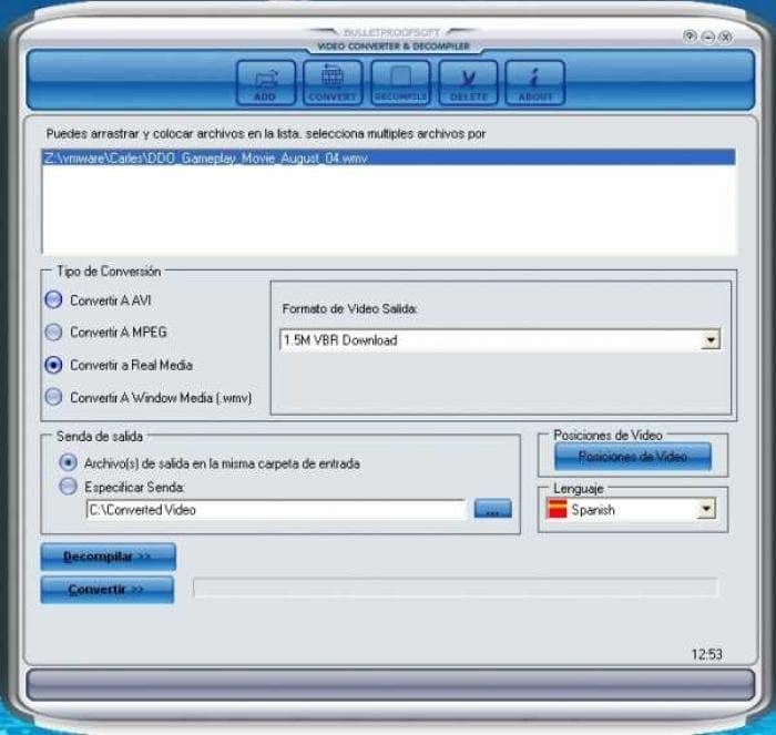 BPS Video Converter&Decompiler