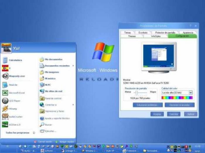 Windows XP Reloaded