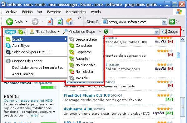 Skype for Internet Explorer