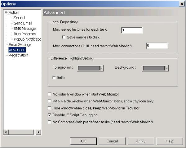 Web Monitor