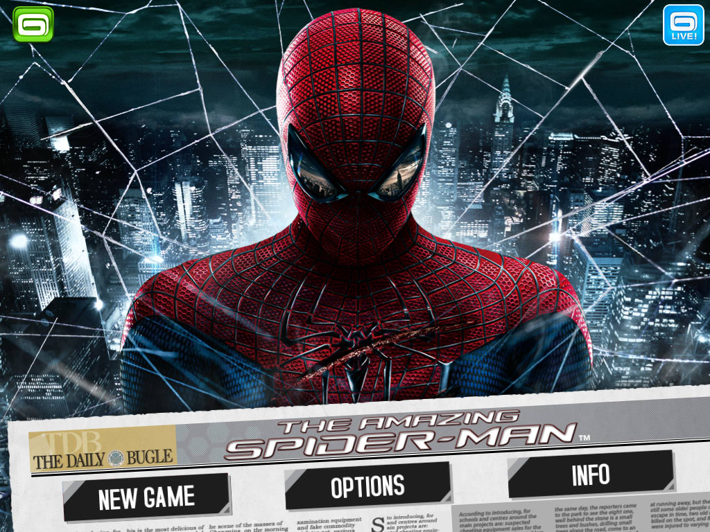 Ultimate Spider-Man: Total Mayhem HD for Android