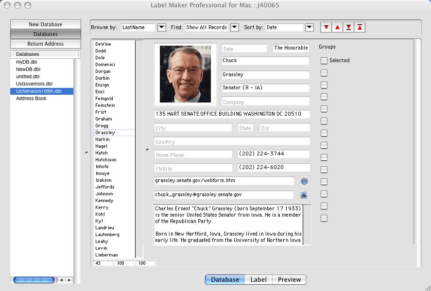 Label Maker Professional for Mac
