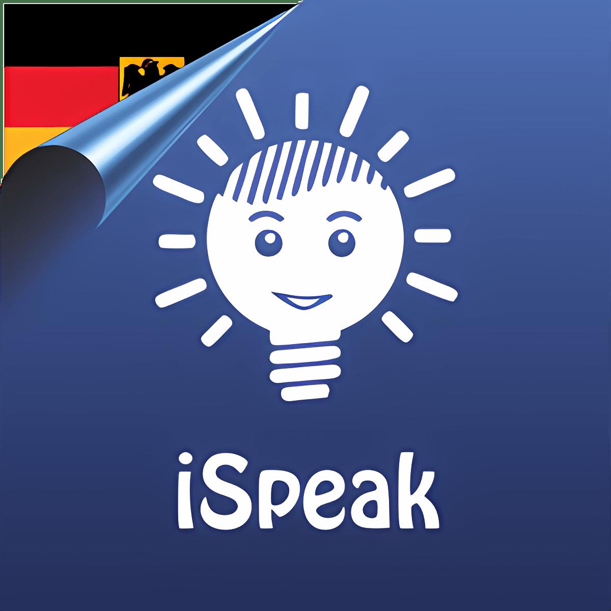 iSpeak German learn language flashcards words tests in