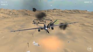 Frontline Drone Simulation