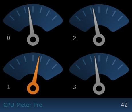CPU Meter Pro