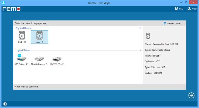 Remo Drive Wipe