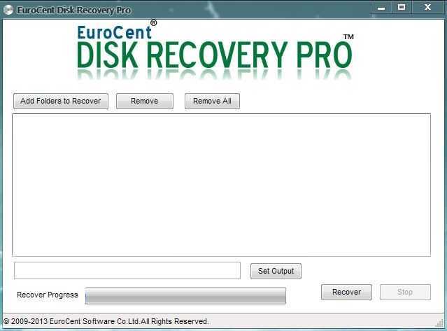 EuroCent Disk Recovery Pro