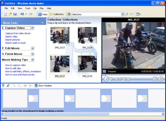 windows movie maker 2.5 xp