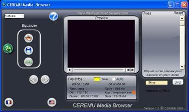 CEREMU Media Browser