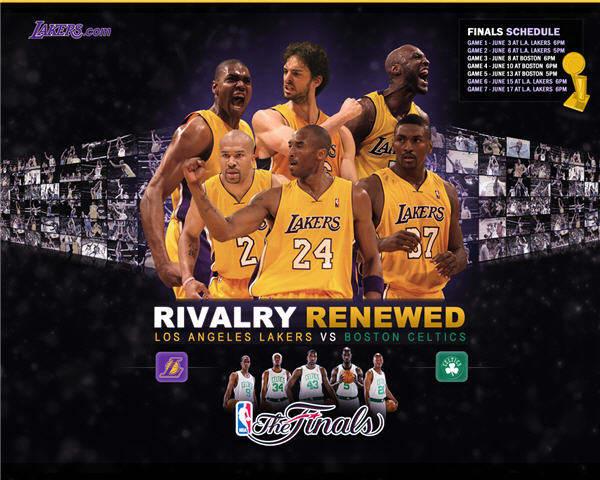 LA Lakers 2010 Playoff Finals Wallpaper