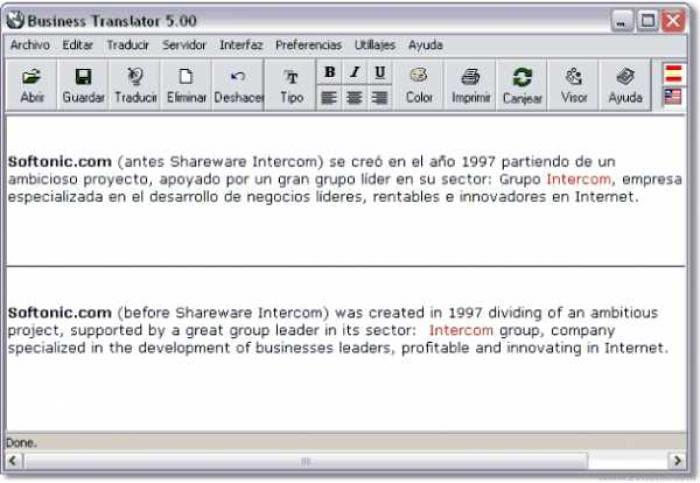 Business Translator
