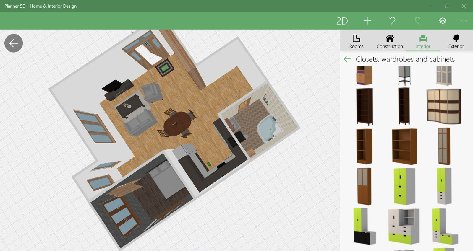 Planner 5d home interior design download for Floor plan maker free no download