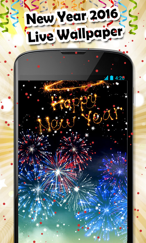 New Year 2016 Live Wallpaper