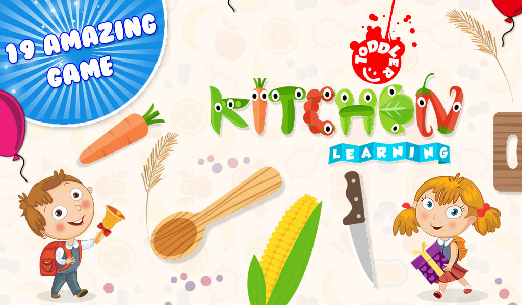 Toddler Kitchen Learning
