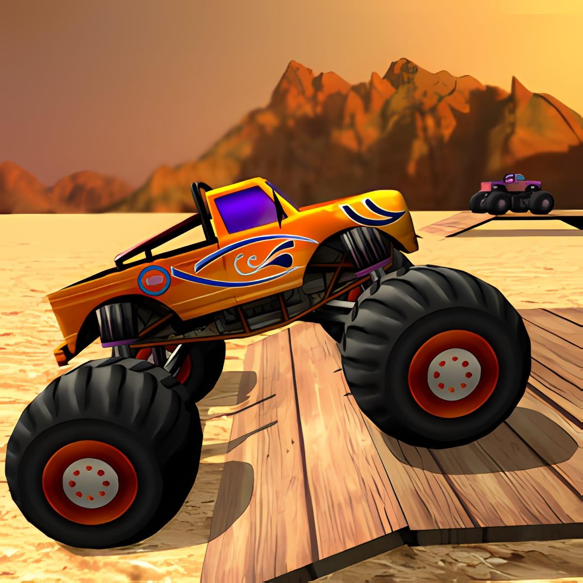 Monster Truck Funs of Stunts 1.0