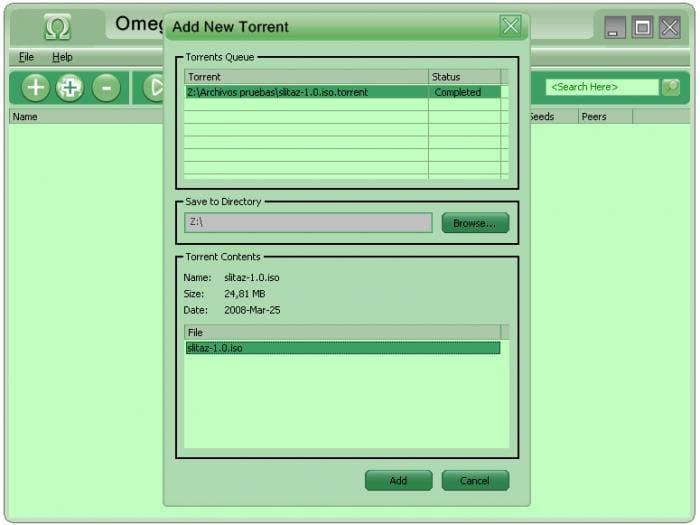 OmegaTorrent