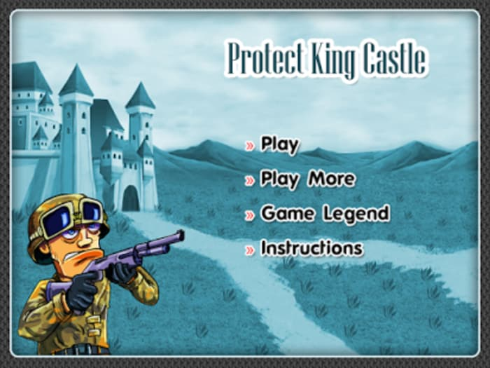 King Castle Shooting Games