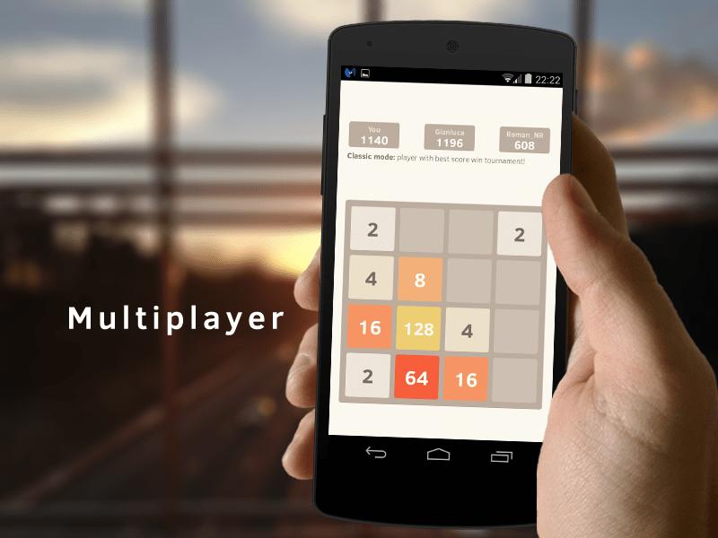 2048 Multiplayer