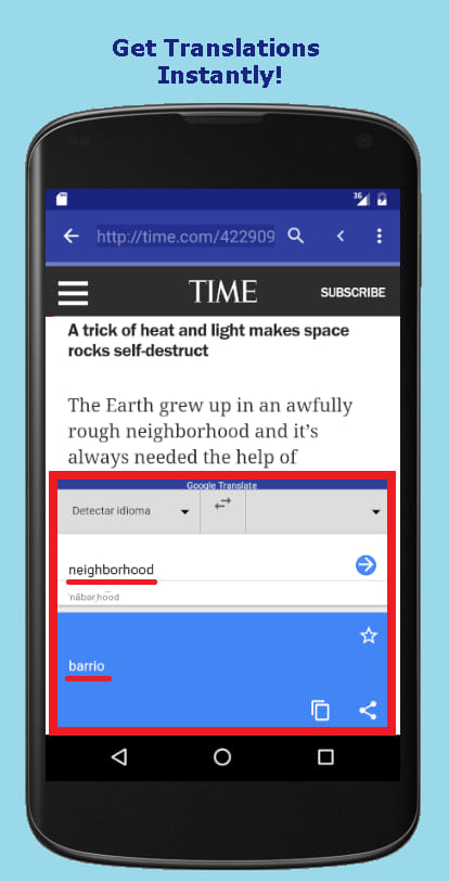 Reading Browser Translate Free