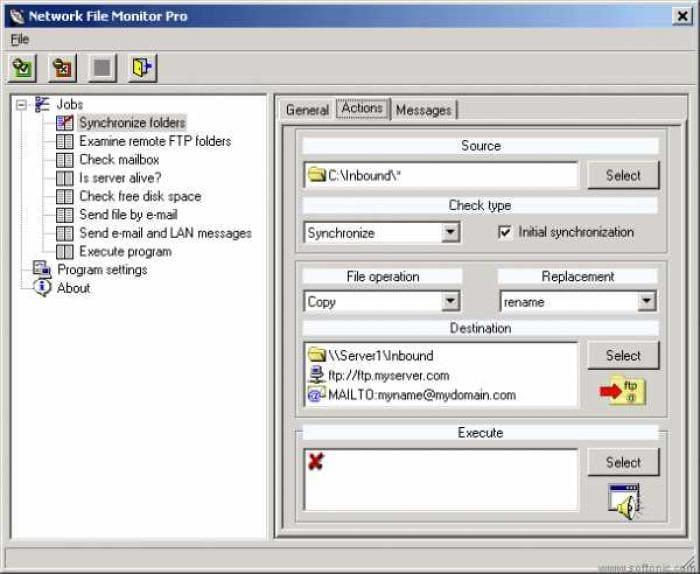 Network File Monitor Light