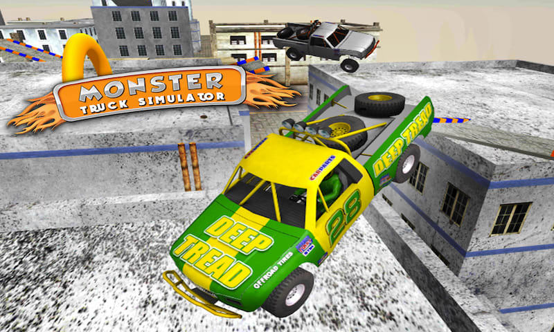 4x4 Monster Truck Stunts Sim