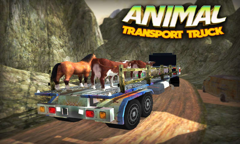 4x4 Animal Transport Truck 3D