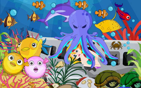 Escape Underwater Mermaid
