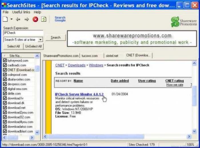 SearchSites
