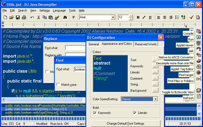 DJ Java Decompiler